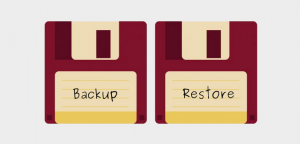 How to restore a WordPress backup