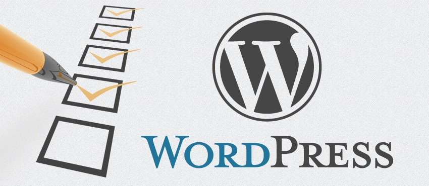 18 major checkpoints for a healthy WordPress website