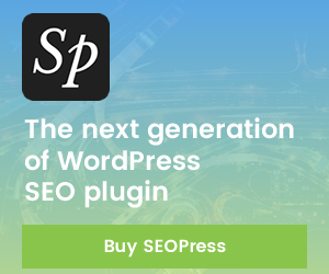 SEOPress WordPress SEO plugin